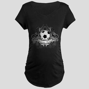 Soccer Aunt Maternity Dark T-Shirt
