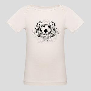 Soccer Aunt Organic Baby T-Shirt