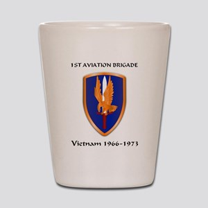 1st Aviation Brigade Shot Glass