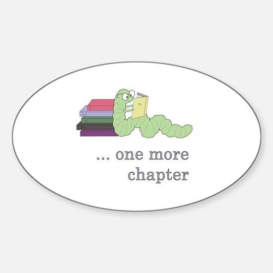 Books 4 life! Sticker (Oval)