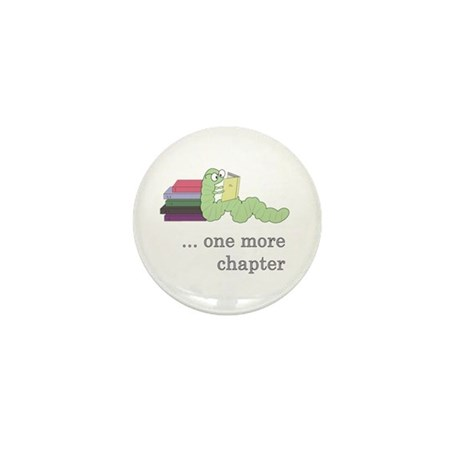 Books 4 life! Mini Button