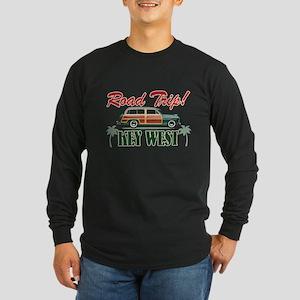 Road Trip! - Key West Long Sleeve Dark T-Shirt