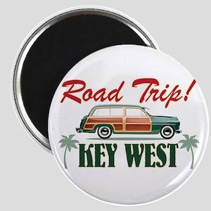 Road Trip! - Key West Magnet