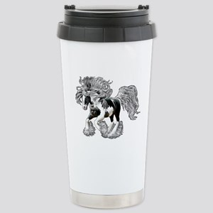Gypsy Vanner Stainless Steel Travel Mug