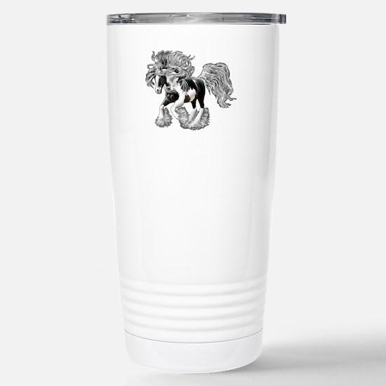 Gypsy Vanner Stainless Steel Travel Mug