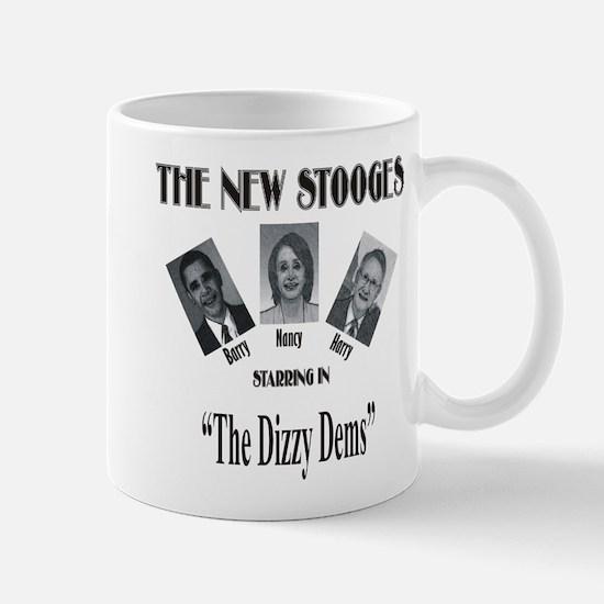 New Stooges: Dizzy Dems Mug