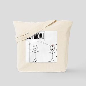 Get Mom! Throwing Star Tote Bag