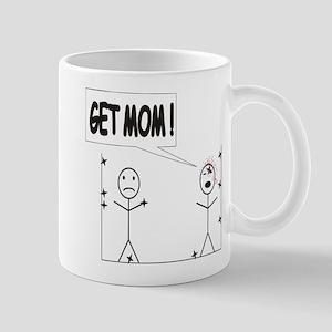 Get Mom! Throwing Star Mug