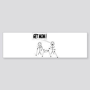 Get Mom! Bow and Arrow Sticker (Bumper)