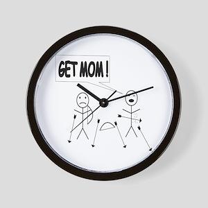 Get Mom! Bow and Arrow Wall Clock