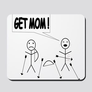 Get Mom! Bow and Arrow Mousepad