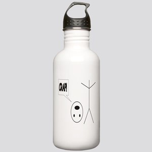 Headless Guy Says Crap Stainless Water Bottle 1.0L