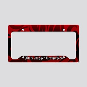 Bdb Red-On-Red License Plate Holder