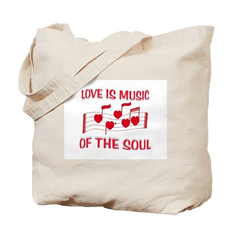 LOVE IS MUSIC Tote Bag