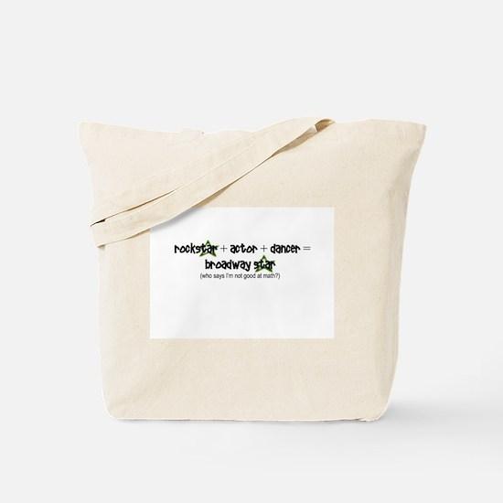 Broadway Star Math Tote Bag