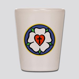 Luther Rose Shot Glass