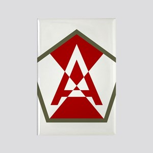 15th Army Rectangle Magnet