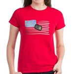 Support Our Troops Women's Dark T-Shirt