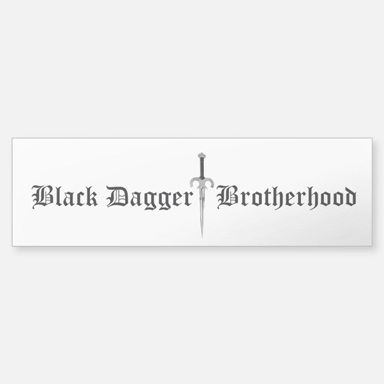 Black Dagger Brotherhood Bumper Bumper Bumper Sticker