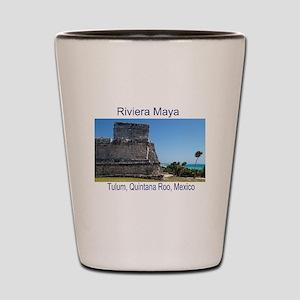 Riviera Maya, Tulum, QR, MX R Shot Glass
