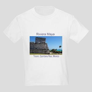 Riviera Maya, Tulum, QR, MX R Kids Light T-Shirt