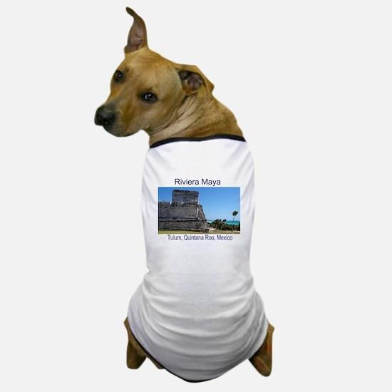 Riviera Maya, Tulum, QR, MX R Dog T-Shirt