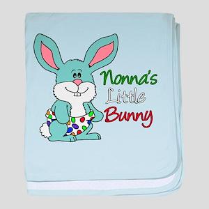 Nonna's Little Bunny baby blanket