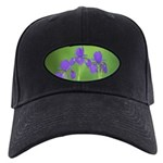 Iris Black Cap with Patch