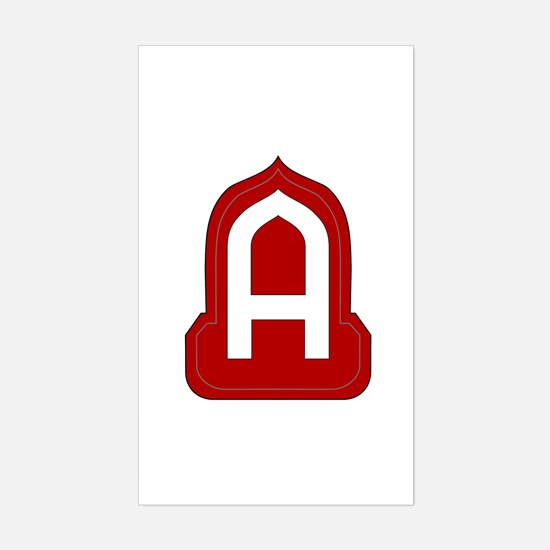 14th Army Sticker (Rectangle)