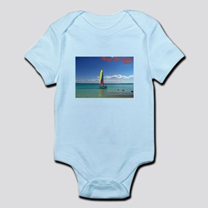 Playa del Carmen, MX Sailboat Infant Bodysuit