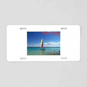 Playa del Carmen, MX Sailboat Aluminum License Pla