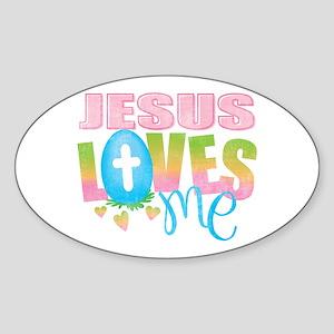 Jesus Loves Me Sticker