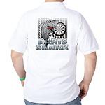 Darts Shark Golf Shirt