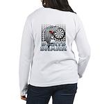 Darts Shark Women's Long Sleeve T-Shirt