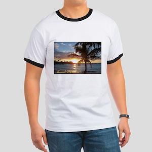 Akumal Sunrise - Palm Tree, Y Ringer T