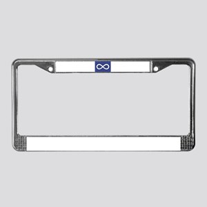Metis License Plate Frame