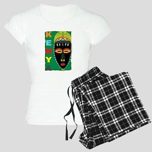 Kenyan Mask Women's Light Pajamas