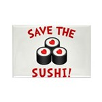 Save The Sushi Rectangle Magnet (10 pack)