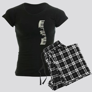 PIANO KEYS Women's Dark Pajamas