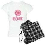 Go Pink Breast Cancer Women's Light Pajamas