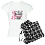Help Support 2nd Base Women's Light Pajamas