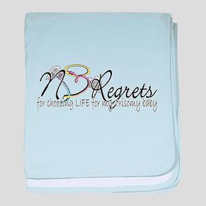 No Regrets baby blanket