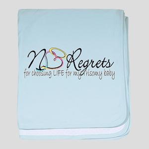 No Regrets2 baby blanket