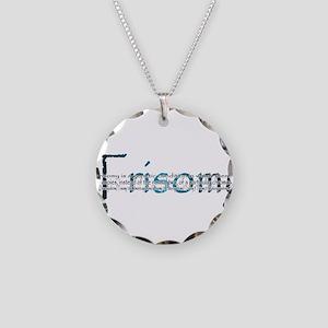 Trisomy Necklace Circle Charm