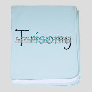 Trisomy baby blanket
