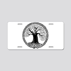 Wisdom Tree I.V. Aluminum License Plate