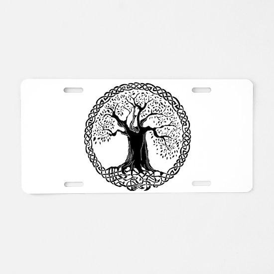 Wisdom Tree I.V. Aluminum License Plate