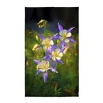 Colorado Blue Columbines Area Rug