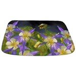 Colorado Blue Columbines Bathmat