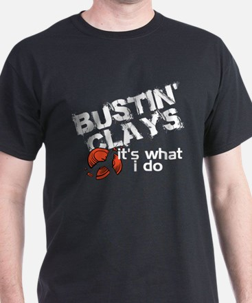 Bustin Clays T-Shirt